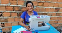 Seamstress in Brazil